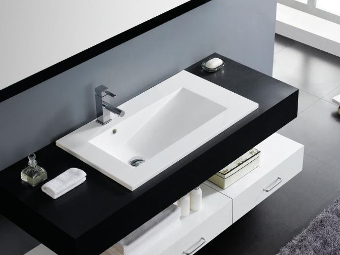Umywalka Wpuszczana Z Szafką łazienkową A Może